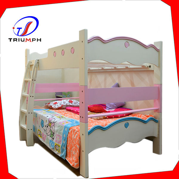Modern twin full wooden bunk bed cheap bunk beds buy for Cheap twin beds