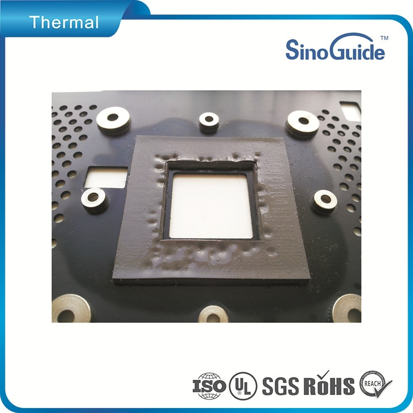 LED/TV Silicon Thermal Conductive Soft Pad Foam for electronics