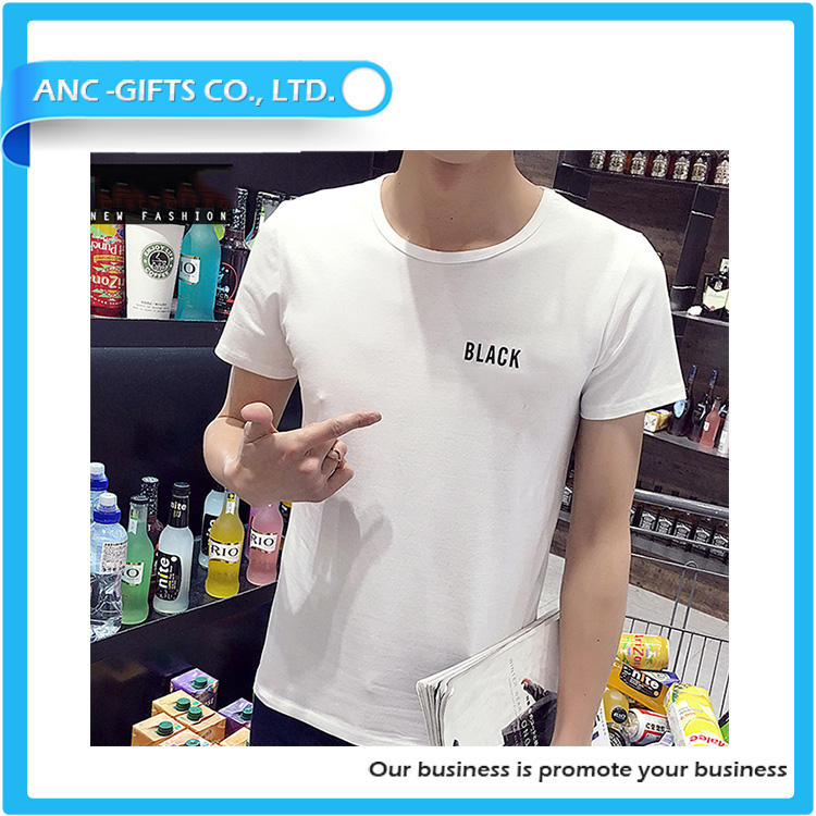 slim fit casual all over print high quality modern fashion 95 cotton 5 lycra men t shirt