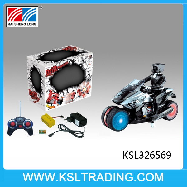 7CH electric drift stunt rc cars motorcycle with music and light