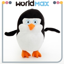 Custom plush The penguins of Madagascar toy cute soft plush penguin