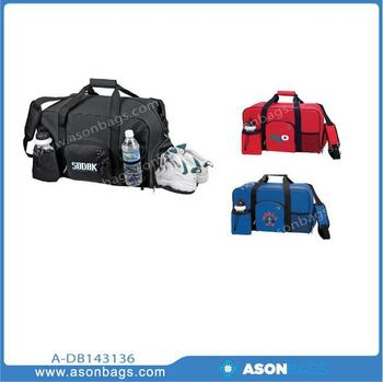 sports bags for gym with multiple storage compartment, waterproof compartment