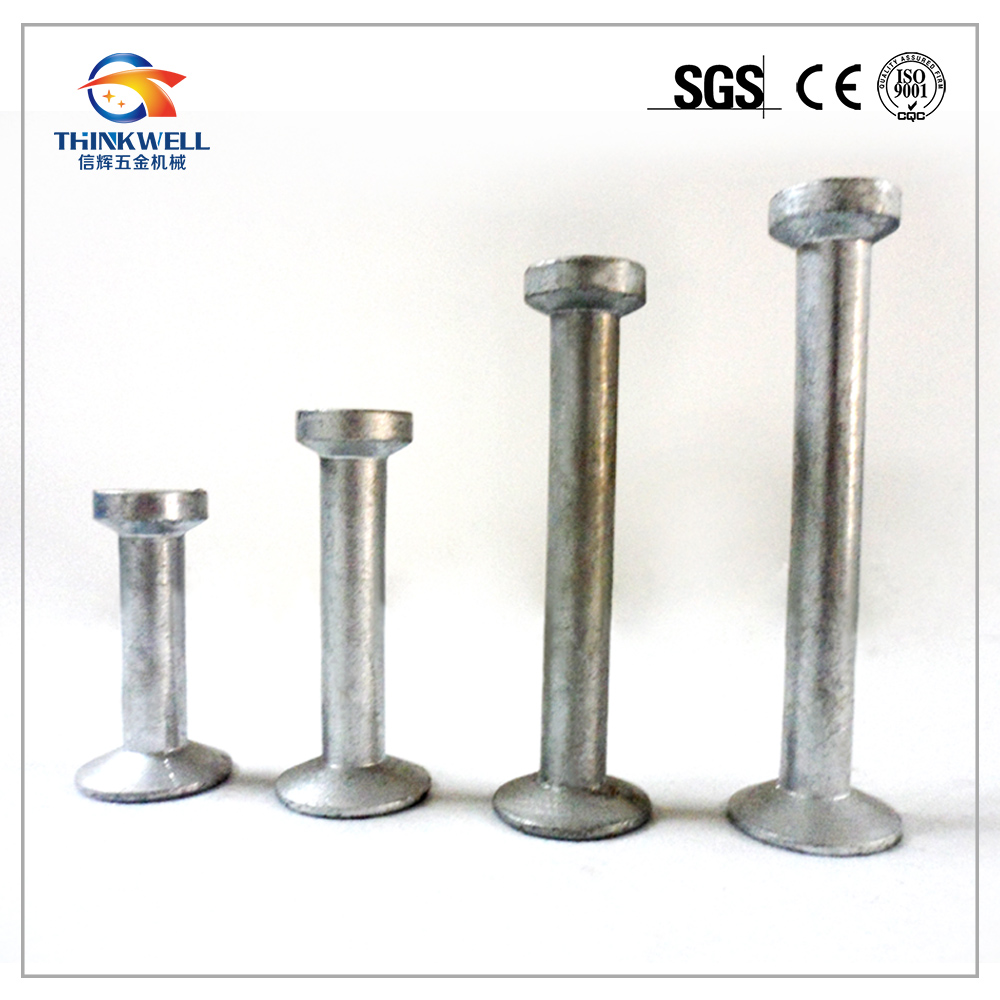 Galvanized Lifting Foot Anchor Spherical Head Anchor Easy Lifting Anchor