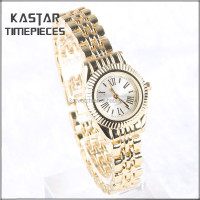 Hot sale ladies gold watch bands
