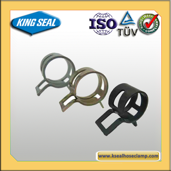 spring steel fastener/retaining clip/mini metal spring clamp KSCB12210