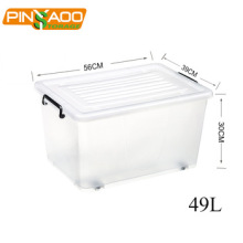 High Quality Durable Clear Waterproof Plastic Storage Box with Lid