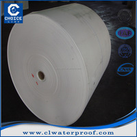 Needle punched non woven polyester mat for asphalt felt