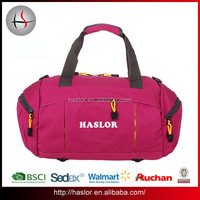2015 Outdoor Sport Travel Gym Bag Canvas Duffle Bag Made in China