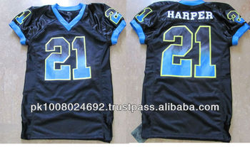Breathable customized American football jerseys