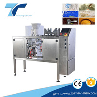 Automatic Powder Food Pre-made Pouch Filling sealing Packing Machine