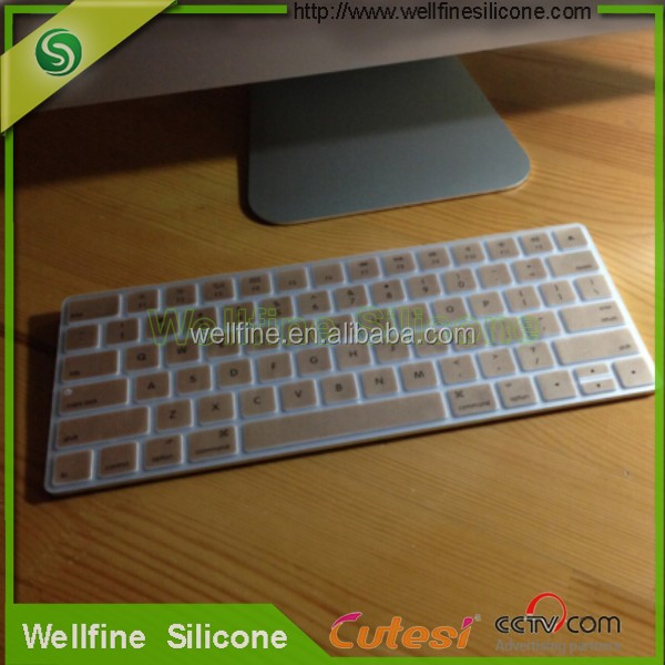 2016 new design silicone wireless keyboard cover