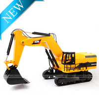 New Toys for sale 8CH Multi-function Remote Control Excavator RC Excavator for sale