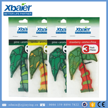 tree shape paper air freshener car hanging air freshener
