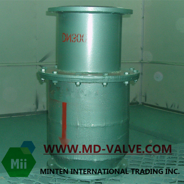 Vertical Lining Check Valve