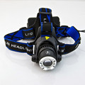 10W XM-L T6 300 Lumen Zooming LED Headlamp+1x Clip+1xCharger+2x18650