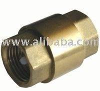 "Check Valve 1/2"" bronze for water, motor oil and other fluids"