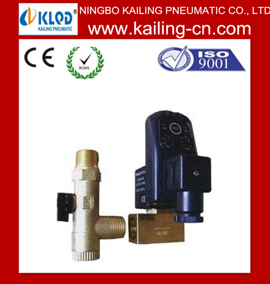 KLPT Two-position Two-way eletric solenoid valve with timer gas valve timer
