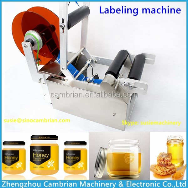 labeling machine with code printer