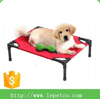 wholesale low price high quality durable Orthopedic Chew proof luxury raised dog bed
