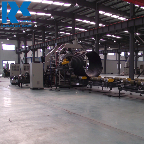 ISO9001, TUV, SGS Certified Corrugated PE Plastic Steel Composite Pipe Extrusion , Production, Making Machine
