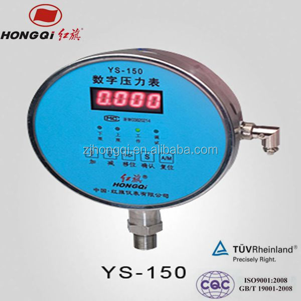 Wise success digital hydraulic pressure gauge with high accuracy