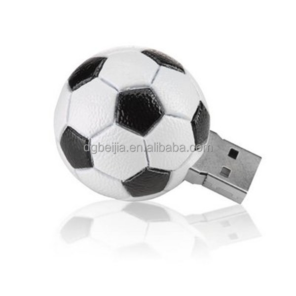 World cup soccer ball 2016 promotion gift usb flash drive for 32 countries fans