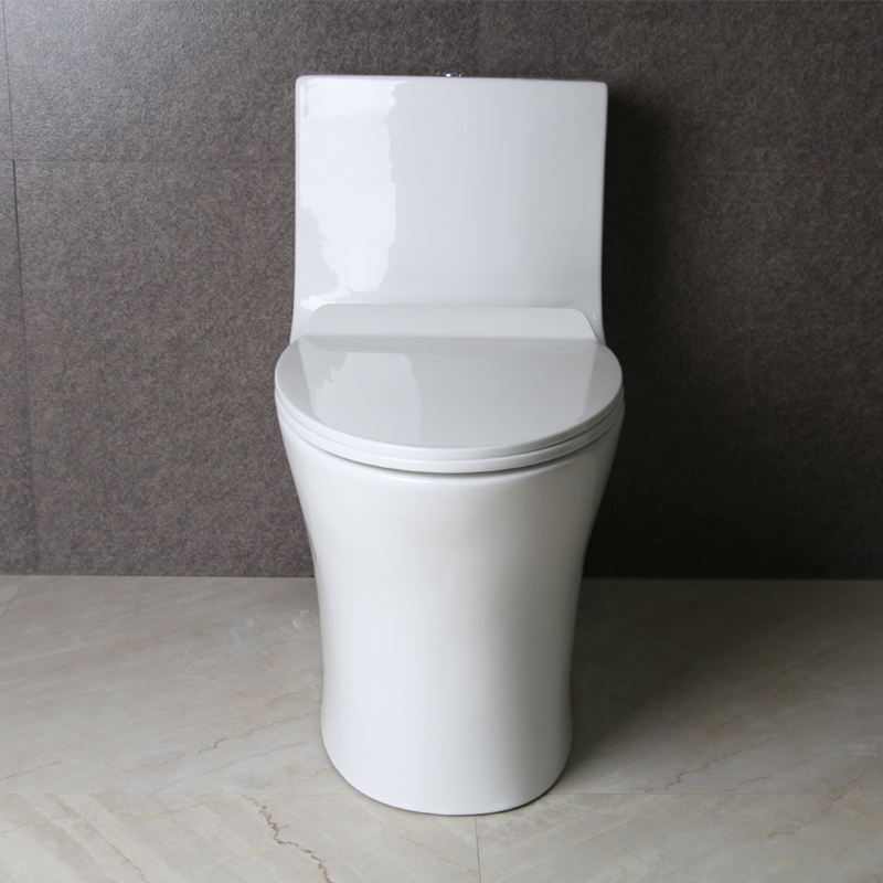 9246 Luxury 4D Strong-power Flush China Ceramic WC Siphonic One-piece toilet with competitive price