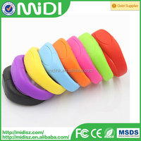 Promotional gifts bracelet usb flash drive, OEM logo wristband usb disk 2gb 4gb 8gb 16gb, cheapest silicone usb flash for event