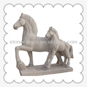 Hot Nature Granite Garden Stone Horse