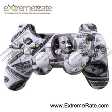 hydro dip replacement parts shell with full set buttons accessories for ps3 wireless controller housing + free shipping