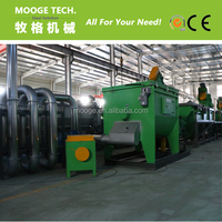 HDPE LDPE Plastic film and Woven bags Horizontal dewatering and drying machine