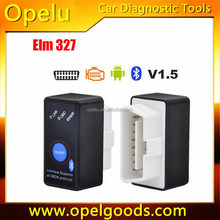Hot sale Mini ELM327 with power switch bluetooth obd2 scanner for Android support