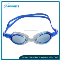 training swimming goggles ,H0T261 silicone strap swim glasses , swimming goggles with diopter