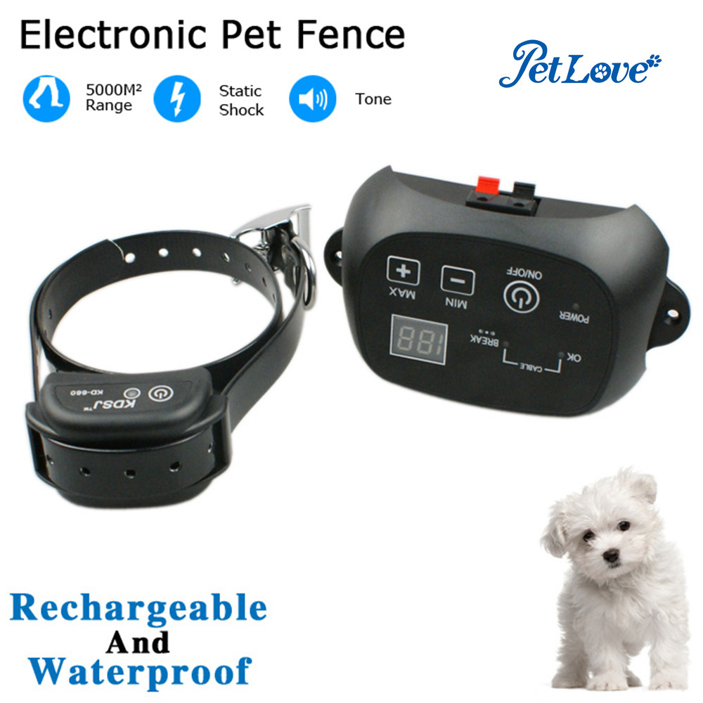 Pet trainer Dog training collar Clever Dog Brand invisible electric dog fence/fence System KD660