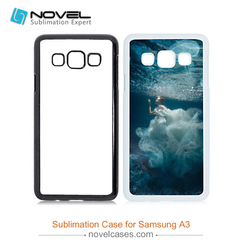 DIY Sublimation Phone Case for Samsung Galaxy A3, 2D Mobile Phone Cover