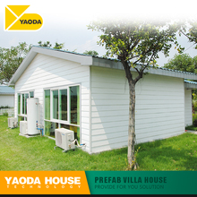 pre fab villa style small house luxury steel structure prefabricated villa house