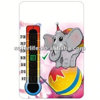 2012 New promotion gifts Forehead strip thermometer fever scan PHARMANCY GIFT magnetic business cards