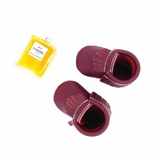 2017 baby shoes deerskin toddle shoes Tassels Fashion shoes