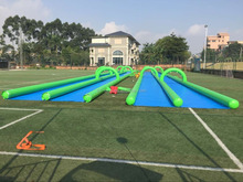 Cheap longest inflatable water slip n city slide for adult/1000 ft slip n slide inflatable slide the city for adults