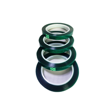 High Temperature Resistant Insulation pet green transparent mylar adhesive tape