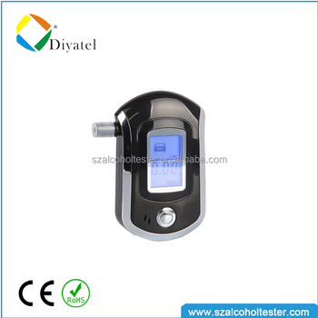 Christmas Gift Design Patent Digital Portable Alcohol Tester AT6000