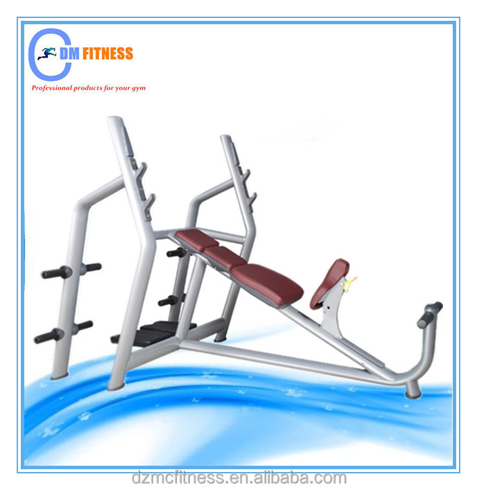 Factory price Exercise Fitness Equipment Incline Bench (Luxury)/ Chest press exercise machine for club