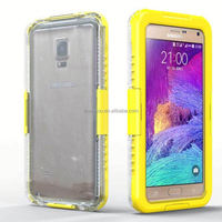 Fashion Combo Cover for samsung note 4 , waterproof phone case