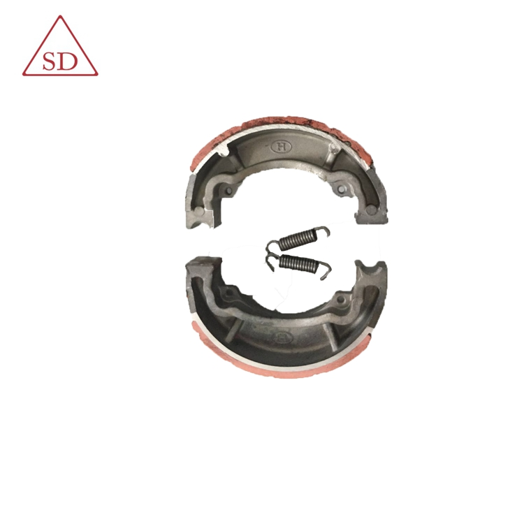 Chinese good quality AX100 brake shoe for bajaj 205 part