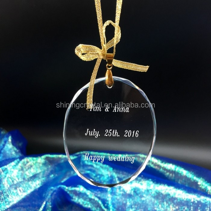 crystal souvenirs gift christmas decorations for home