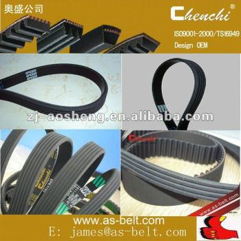 OEM Automotive Belt EPDM , HNBR ,CR Material ALTERNATOR BELT Rubber V Belt