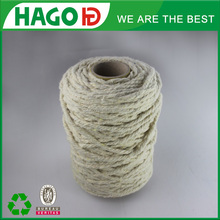 ne 6s/1 oe yarn recycle polyester soft high quality weaving /knitting 50% poly 50% cotton mix raw white t/c yarn