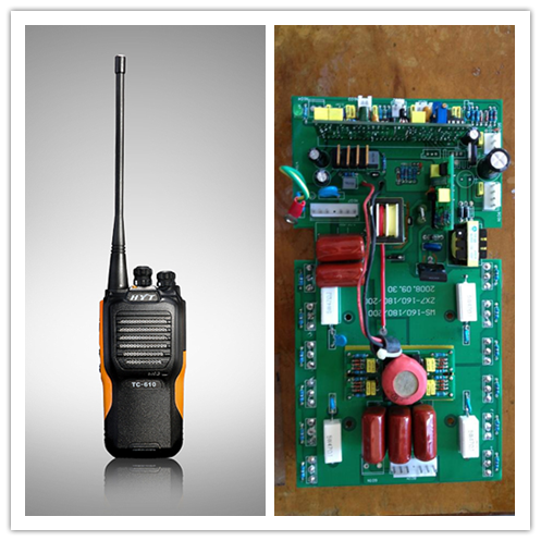 Professional Walkie Talkie 94v0 circuit board PCB And Pcba Assembly
