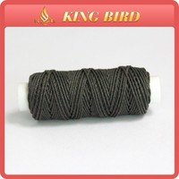 High quality waxed cotton polyester thread