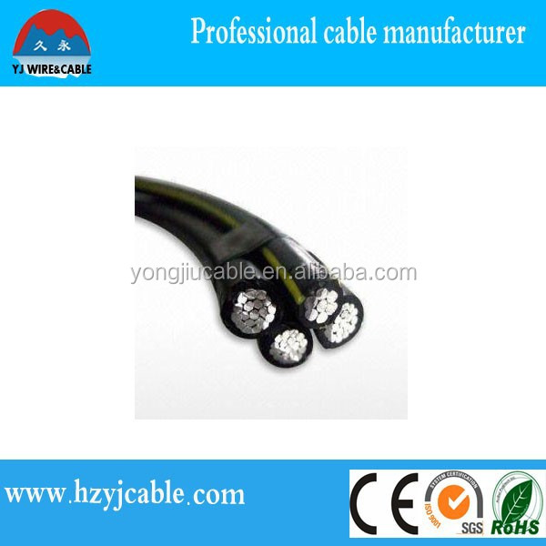 China Manufacturer Abc Cable,overhead abc cable Aerial Bundle Cable XLPE Insulation